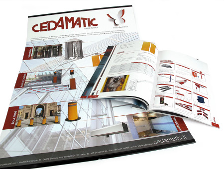 Cedamatic catalogo e poster