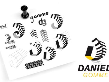 Danieli Gomme logo e immagine coordinata