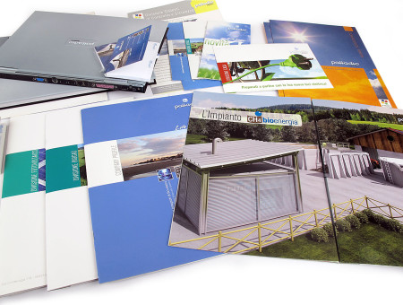 Palladio Impianti immagine coordinata e brochure