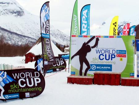 ISMF ski events allestimenti