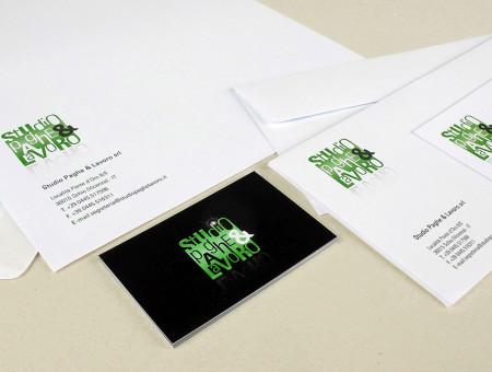 Studio Paghe e Lavoro logo e immagine coordinata